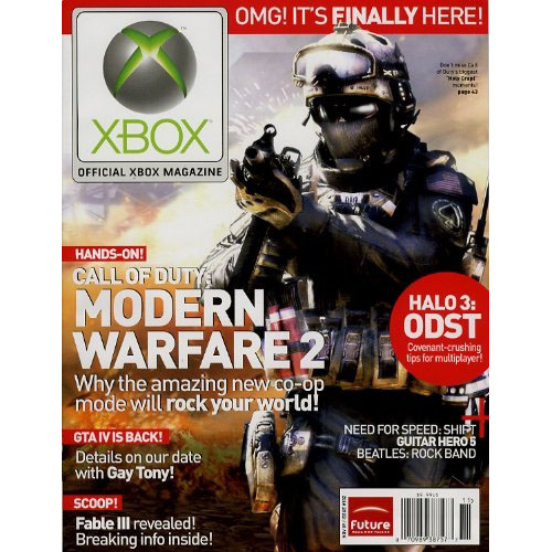 official xbox magazine  with dvd   1