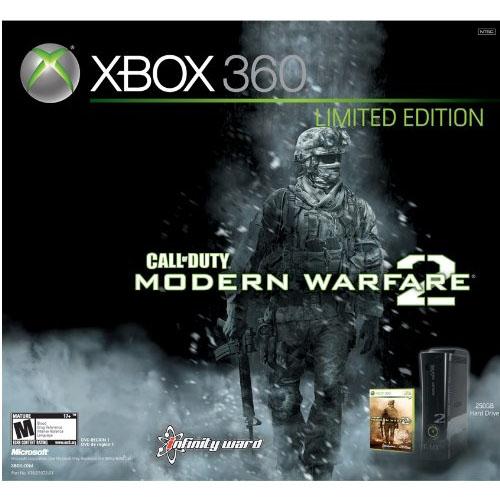 xbox 360 modern warfare 2 limited edition console
